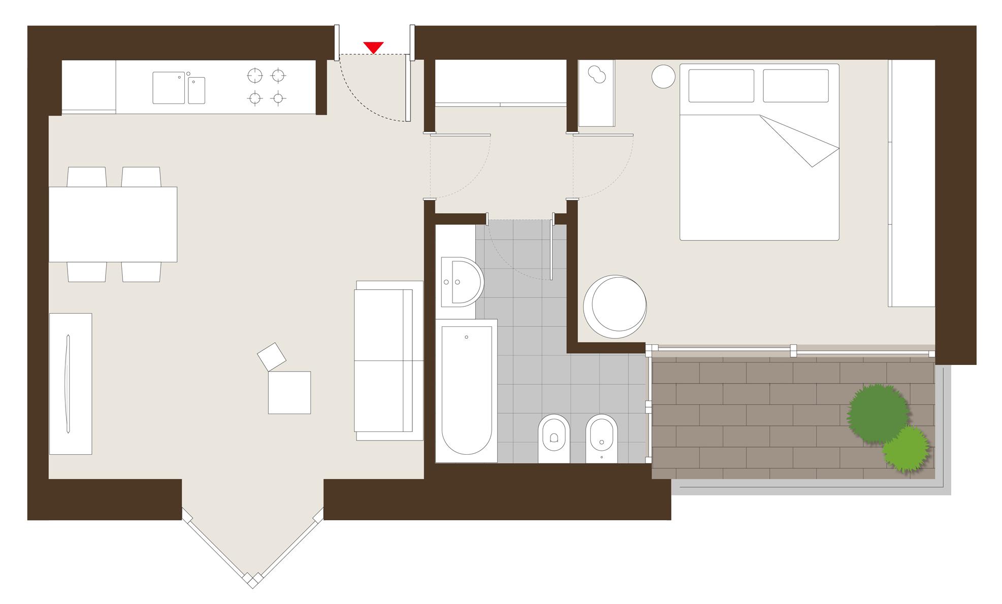 Duplex apartment - Penthouses in Milan - Campari Towers